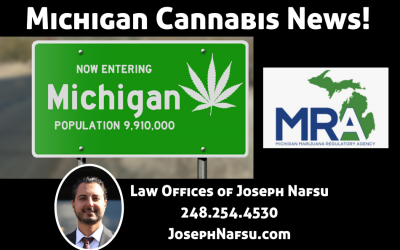 Michigan Cannabis News – from the MRA