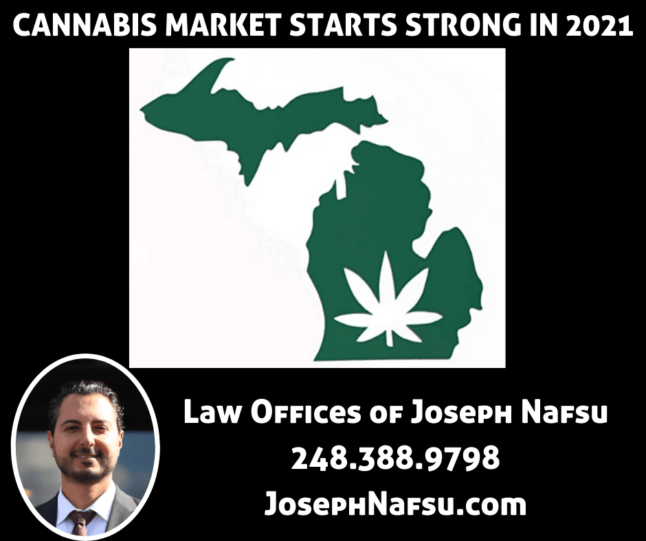 Michigan Cannabis Update Joseph Nafsu Marijuana Business Attorney Lawyer
